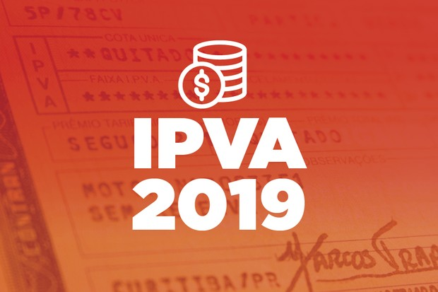 IPVA 2019 (Foto: Autoesporte)