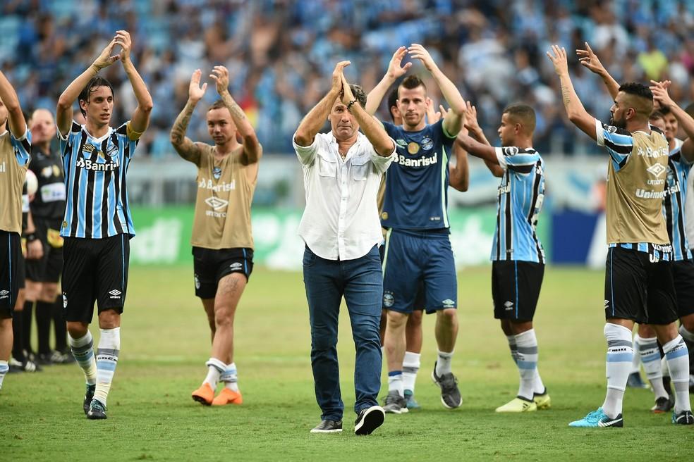 """Grêmio se mobiliza em """"obsessão"""" pelo Gauchão (Foto: Wesley Santos/Agência PressDigital)"""
