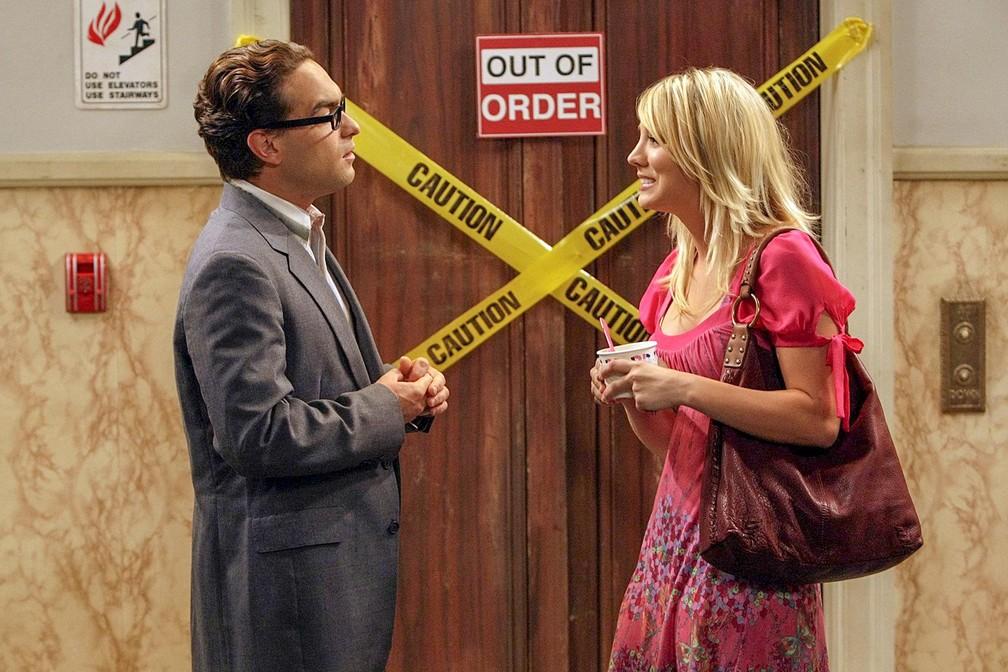 Cena de 'The Big Bang Theory' — Foto: Divulgação