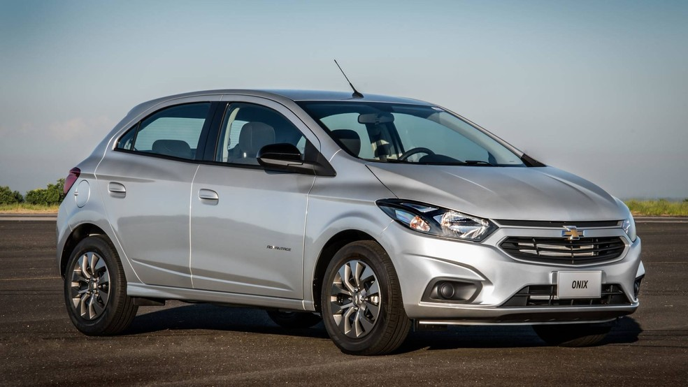 Chevrolet Onix é o líder de vendas no Brasil (Foto: Divulgação)