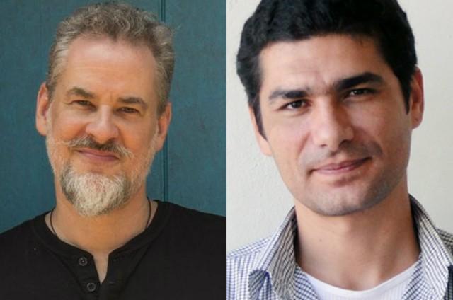 Dan Stulbach e Rômulo Braga (Foto: TV Globo e divulgação)