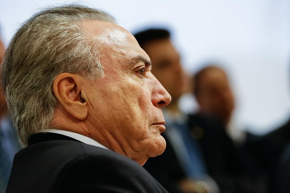 O presidente da República, Michel Temer (Foto: Marcos Corrêa/PR)