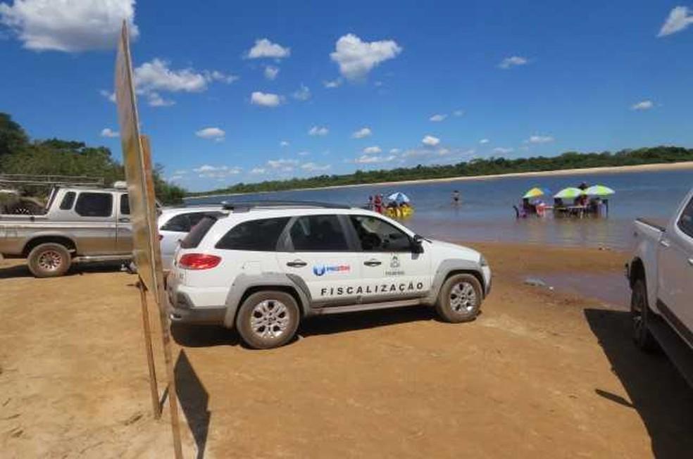 Fiscalização aconteceu em praias de 16 municípios — Foto: Divulgação/Procon