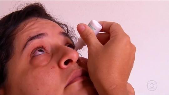 Força-tarefa tenta identificar tipo de conjuntivite que causou surto da doença em Caldas Novas