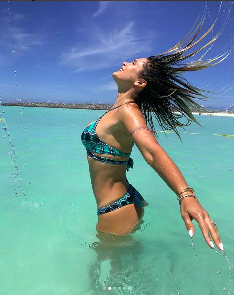 Flavia Alessandra em Orlando, EUA (Foto: Reprodução Instagram )
