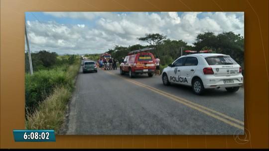 Carro capota em Guarabira, PB, e deixa um morto e quatro feridos, diz bombeiro