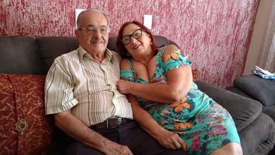 Amor que cura: casal que se conheceu no hospital conta a história no 'Escolhi Você'