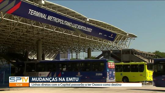 Mudança de linhas de ônibus na Grande SP afeta rotina de 80 mil passageiros