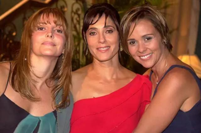 Maria Padilha, Christiane Torloni e Giulia Gam em 'Mulheres apaixonadas' (Foto: Globo)