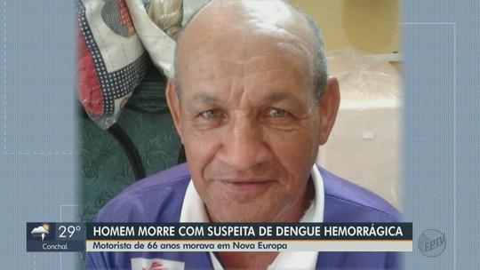 Secretaria de Saúde de Nova Europa investiga morte de idoso com suspeita de dengue