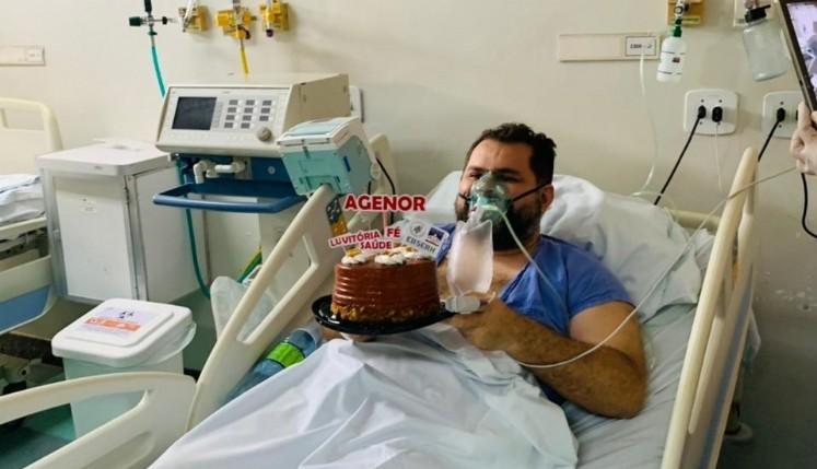 Paciente transferido de Manaus comemora aniversário em São Luís
