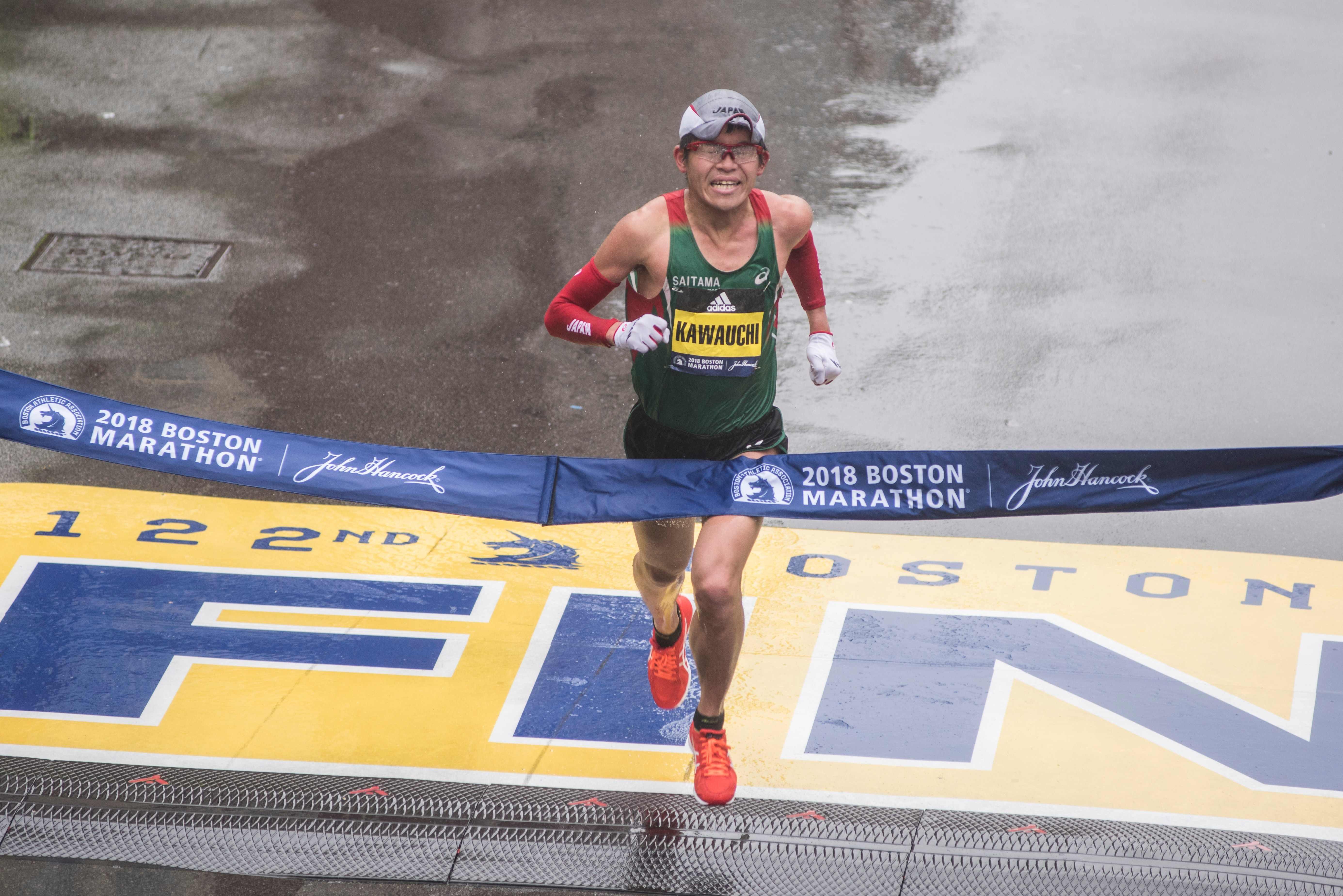 Yuki Kawauchi, o atual campeão da Maratona de Boston