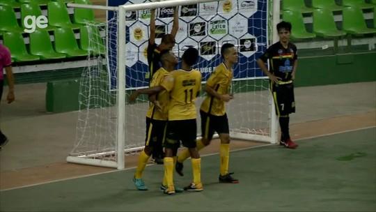 AABB vence Sampaio e enfrenta o JES na decisão do primeiro turno do Piauiense de futsal
