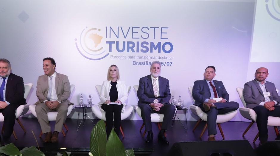 Cerimônia de lançamento do Investe Turismo em Brasília (Foto: Charles Damasceno)