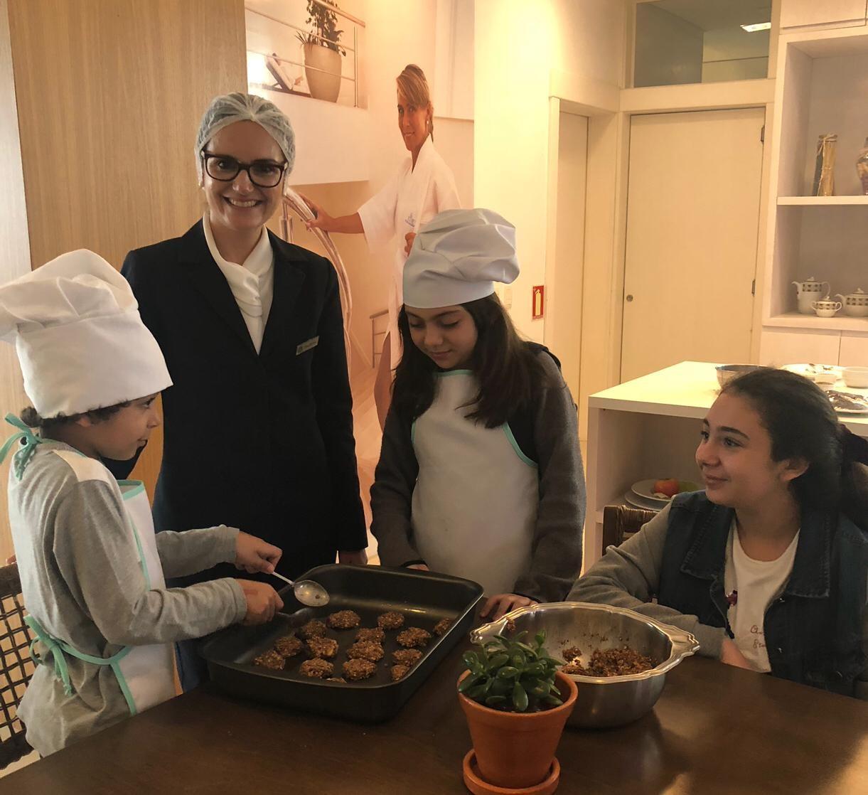 Oficina de culinária Kids (Foto: Divulgação)