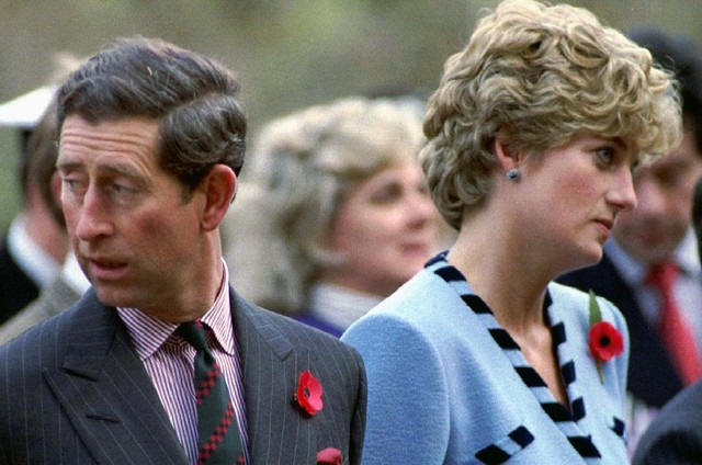 Príncipe Charles e princesa Diana em foto de 1992 (Foto: Rc/Photo by Arthur Edwards REUTERS)