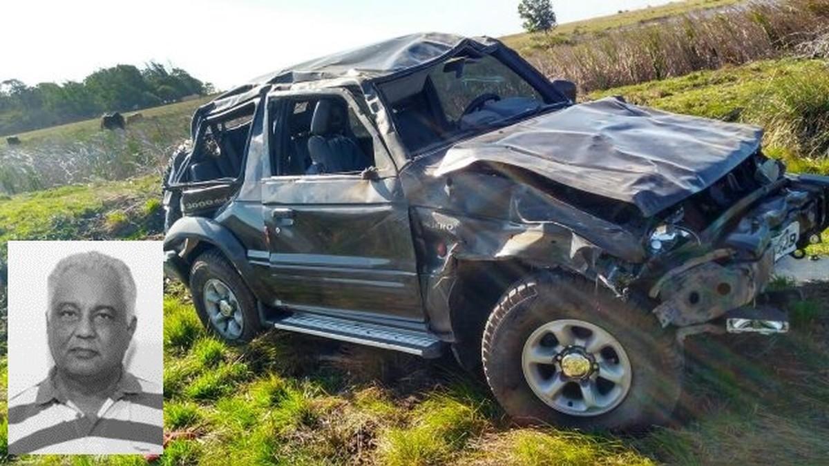 Ex-vereador morre em acidente na RJ-196, em São Francisco de Itabapoana
