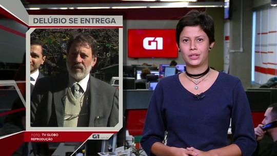 G1 em 1 Minuto: ex-tesoureiro do PT Delúbio Soares se entrega para a PF