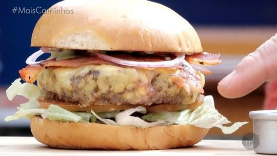 Hambúrguer vegetariano é destaque no 'Segredos da Cozinha'
