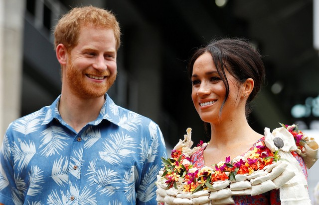 Meghan Markle e Príncipe Harry na Universidade do Pacífico Sul (Foto: Getty Images)
