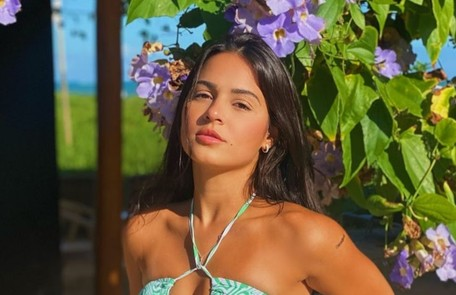 Giulia Buscacio teve Covid no fim de julho, se recuperou em agosto e está em viagem Reprodução