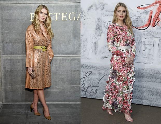 Os vestidos médios e longos são sua preferência  (Foto: Getty Images)