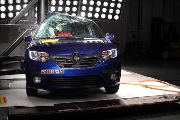 Renault Sandero Latin NCap (Foto: Divulgação)