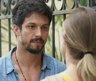 Paloma dá fora e magoa Marcos: 'Não consigo confiar em você' (TV Globo)