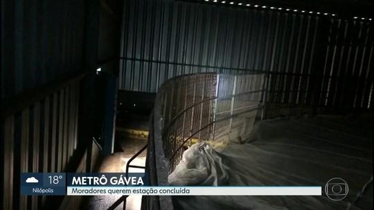 O carioca foi surpreendido pela notícia de que a estação do Metrô da Gávea será aterrada