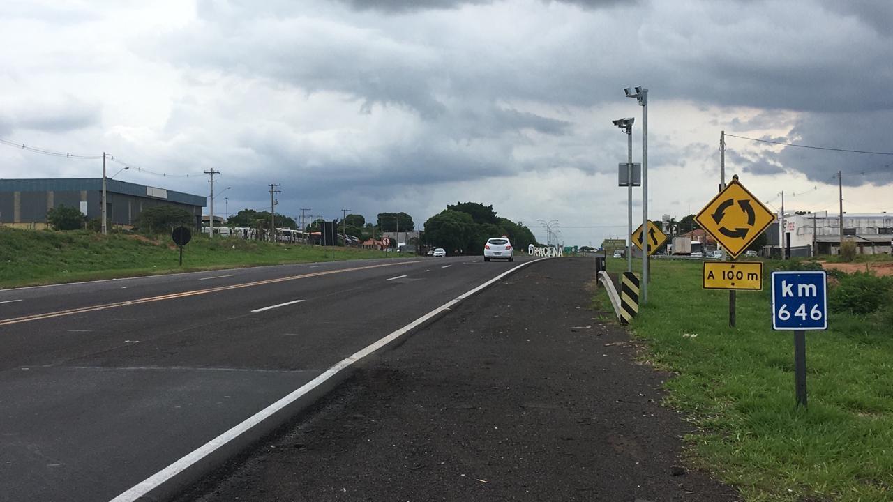 Liminar determina suspensão de multas a usuários que foram autuados por radares de velocidade no km 646 da SP-294, em Dracena
