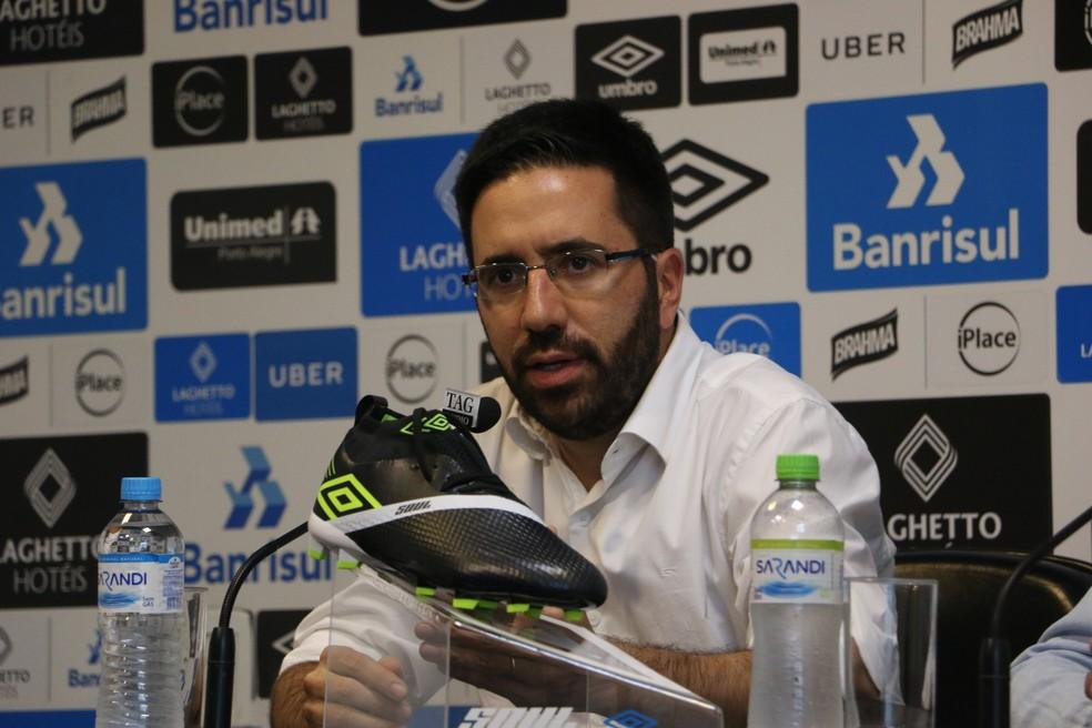 André Zanotta retomou conversas com o Cruzeiro — Foto: Eduardo Moura