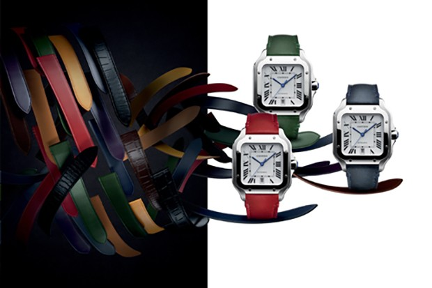70c6fffb9ca Cartier arma instalação interativa para celebrar relógio Santos no ...