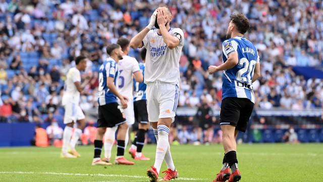 Benzema lamenta: Real Madrid sofreu a primeira derrota no Campeonato Espanhol neste domingo
