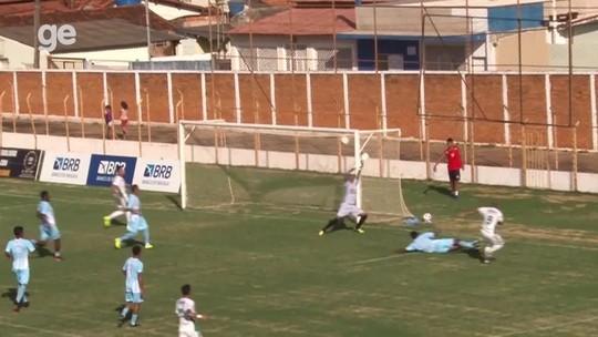 Brasiliense empata com Paracatu e vai às quartas; Duelo goiano termina em 2 a 2