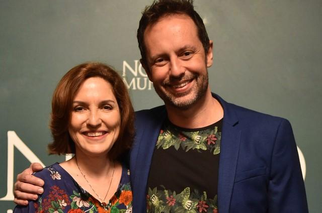 Thereza Falcão e Alessandro Marson (Foto: Mauricio Fidalgo/ TV Globo)