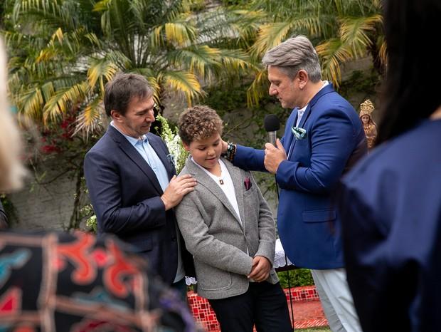 Eduardo Indig, Manoel e Marcelo Sampaio (Foto: Nellie Solitrenick)