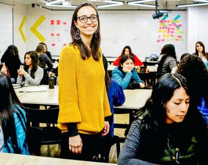 Mariana Costa, fundadora da Laboratória: organização oferece cursos de programação para mulheres