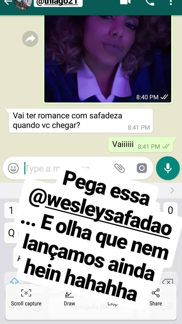 """Anitta e Thiago Magalhães combinam """"romance com safadeza"""" em Miami (Foto: Reprodução/Instagram)"""
