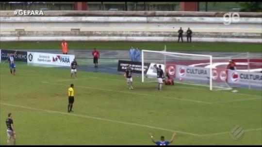 Rangel ou Nicolas? Na súmula, árbitro dá autoria do terceiro gol do Paysandu para o camisa 11