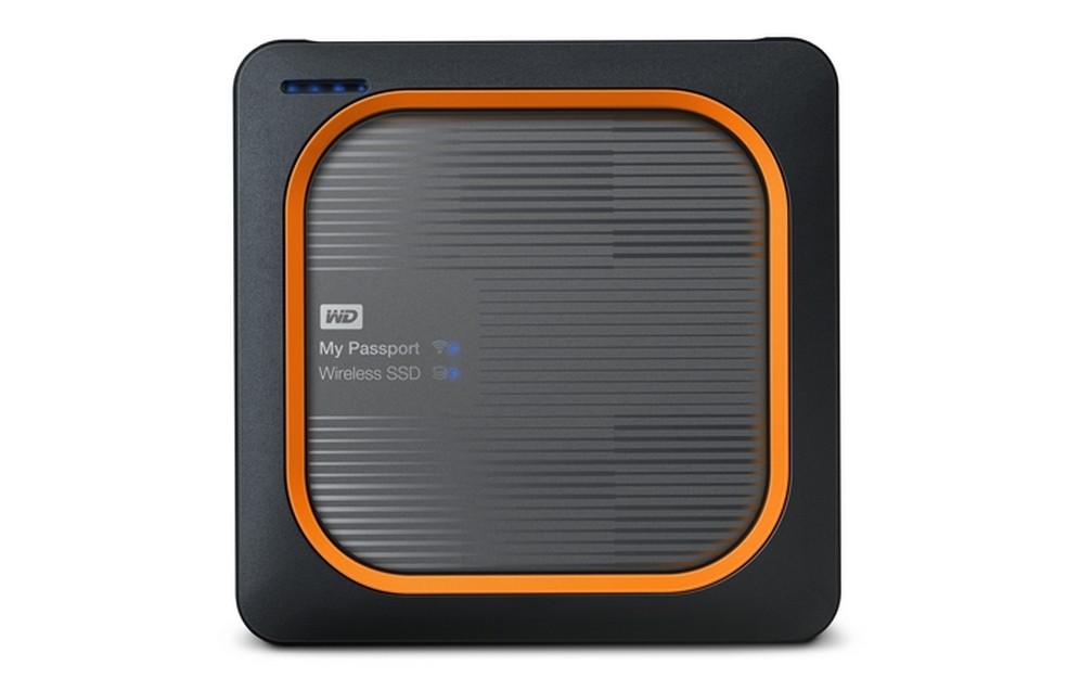 My Passport Wireless SSD realiza transferências sem fio (Foto: Divulgação/Western Digital)