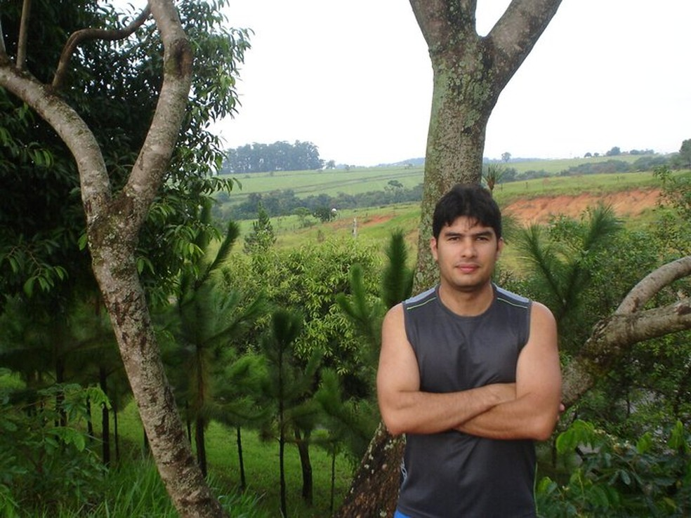 André Arouche foi morto dois homens tentaram roubar a sua moto, no bairro Bequimão, em São Luís — Foto: Arquivo Pessoal