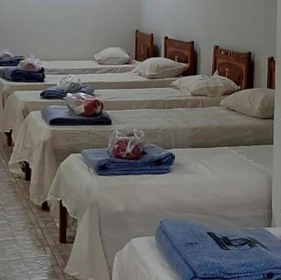 Abrigo de Três Rios será temporário  — Foto: Divulgação/Prefeitura de Três Rios
