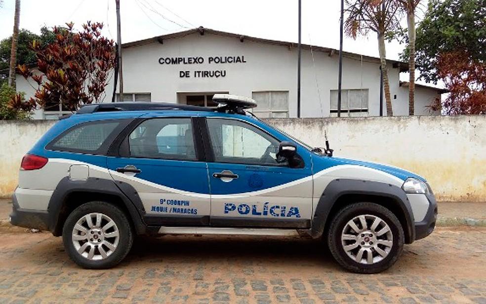 Caso aconteceu na Delegacia de Itiruçu, sudoeste da Bahia (Foto: Blog Itiruçu Online)