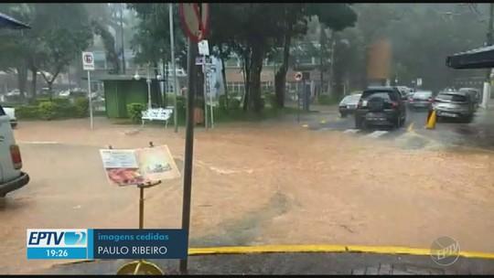 Chuva deixa Serra Negra e outras três cidades da região em estado de atenção, afirma Defesa Civil