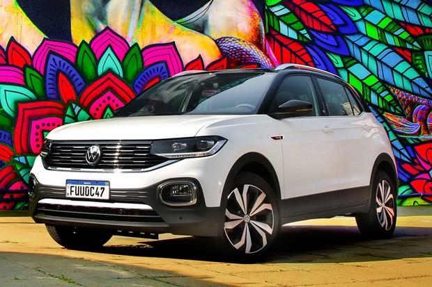 Volkswagen T-Cross 2021 Dianteira Estatica (Foto: Divulgação)