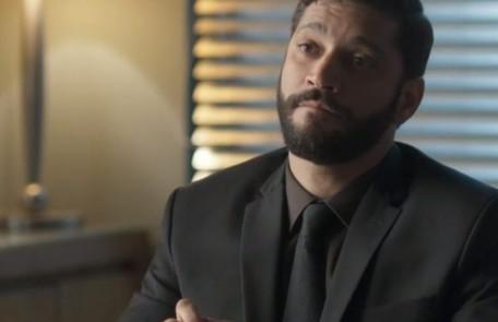Na sexta-feira (27), Diogo perseguirá Eric e acabará provocando um acidente que matará o empresário TV Globo
