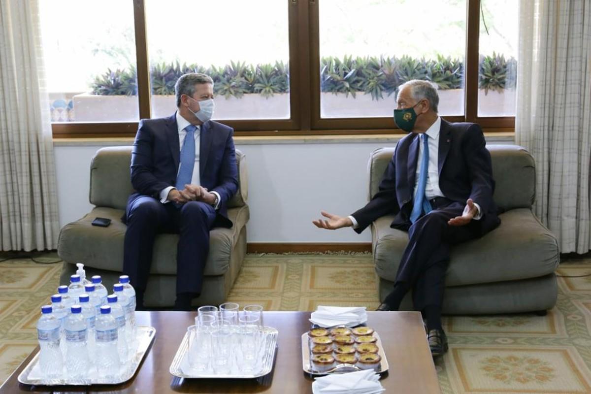 Arthur Lira se reúne com presidente de Portugal e discute acordo Mercosul-UE