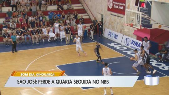 """""""Faltou consistência"""", lamenta Rafa após derrota do São José Basquete na prorrogação"""