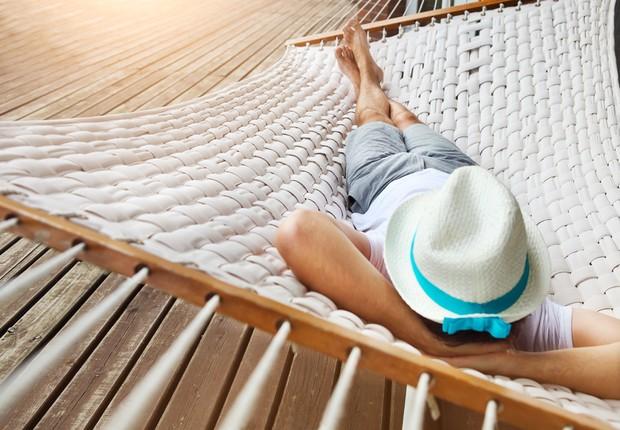 Férias - descanso - rede - folga - relaxar - descansar  (Foto: Thinkstock)