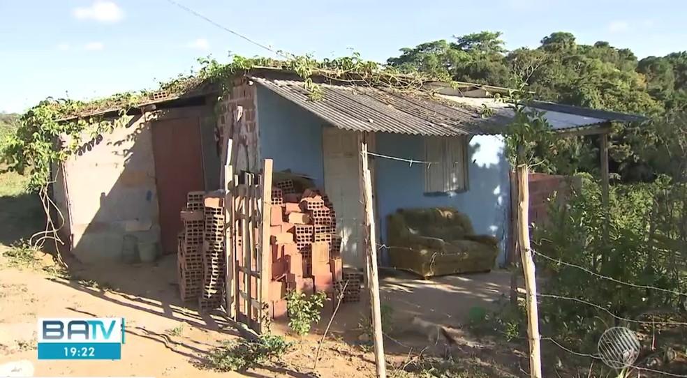 Idoso foi picado na casa onde morava em Salvador — Foto: Reprodução/TV Bahia